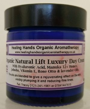 Organic Natural Lift Hyaluronic Acid & Manuka Honey Day Cream with SPF15 - 60ml